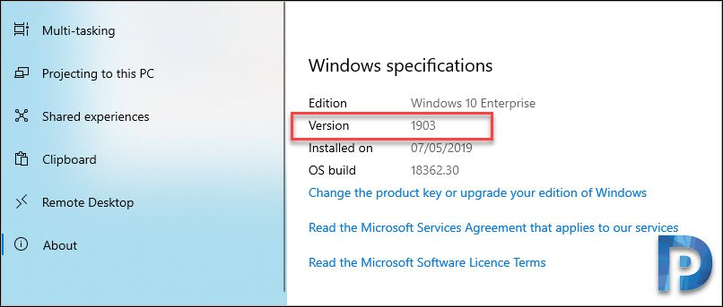 Windows 10 1903 Upgrade using SCCM – Prajwal Desai