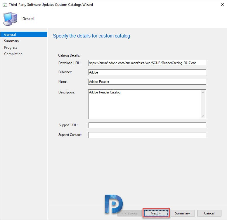 Add Third-Party Software Update Catalogs in SCCM