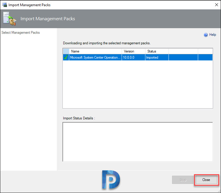 Update SCOM management pack