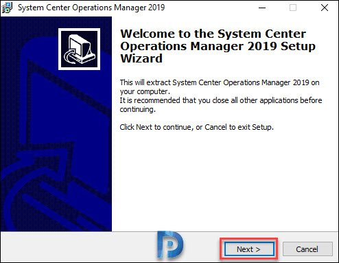 Extract Operations Manager 2019
