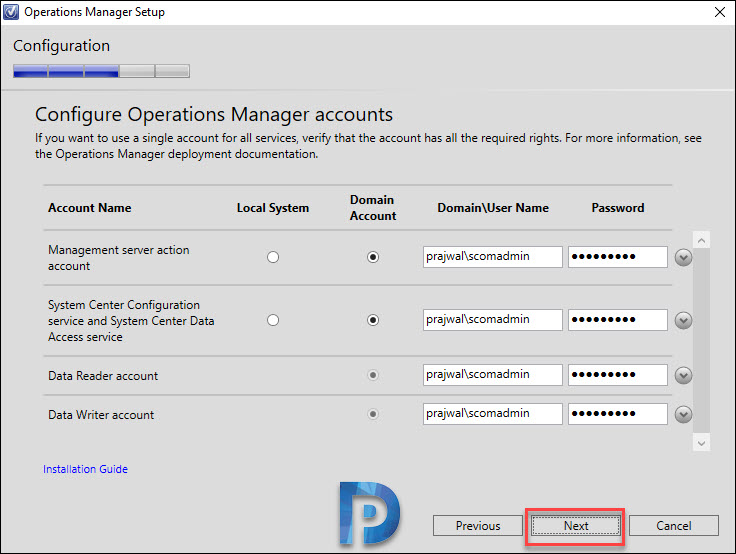 Install Operations Manager 2019