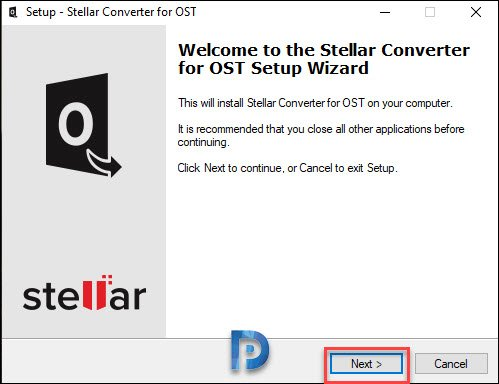 Installing Stellar Converter for OST
