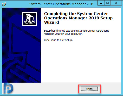 Download SCOM 2019 and Extract the Setup