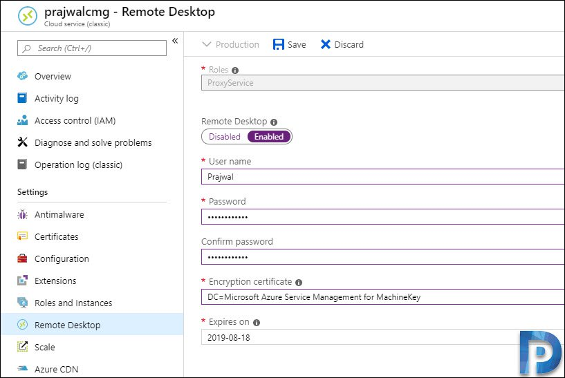 How to Enable Remote Desktop on SCCM CMG
