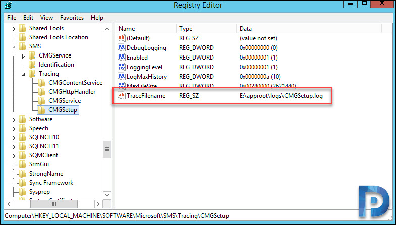 List of SCCM CMG Log Files for Troubleshooting