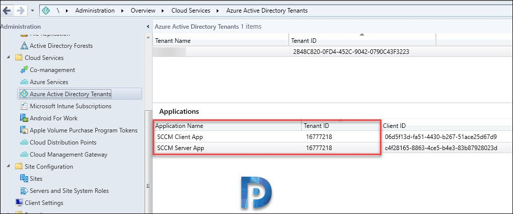SCCM client and Server app