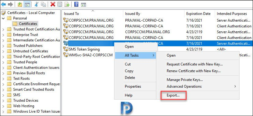How to Setup SCCM Cloud Management Gateway – Prajwal Desai