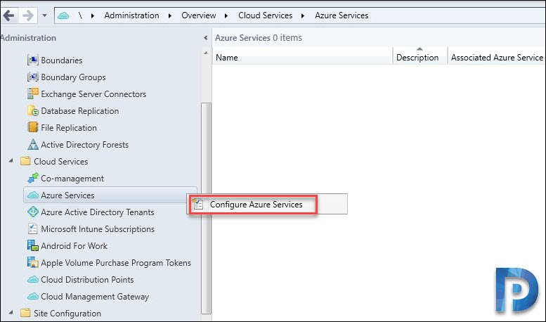 Configure Azure Services