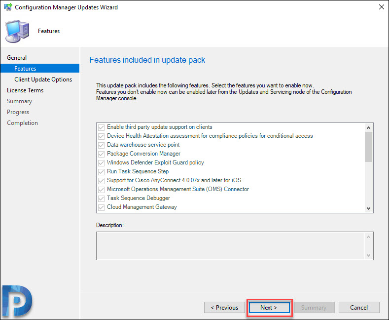 ConfigMgr Technical Preview 1908 new Features