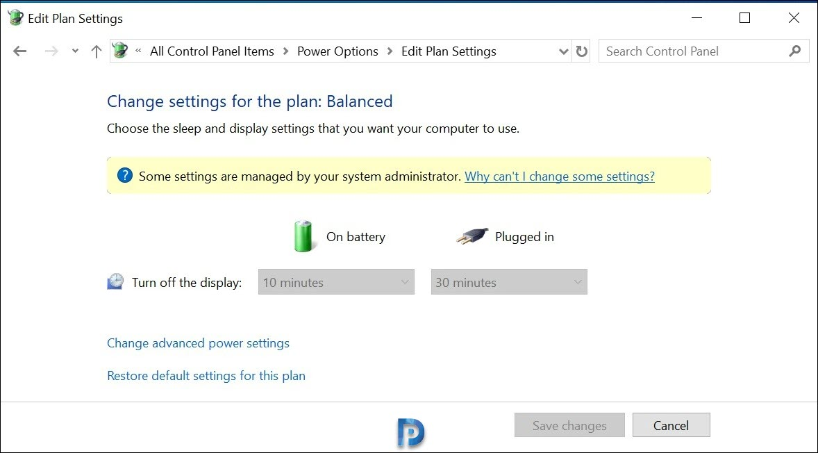 Configure Power Management Options in Intune