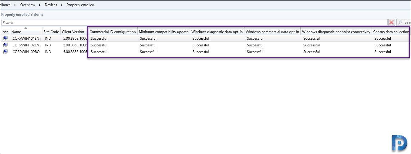 Desktop Analytics Health States