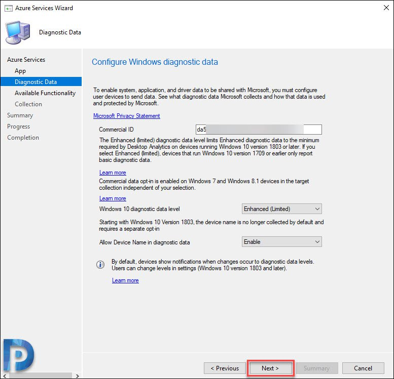 Configure Windows Diagnostic Data