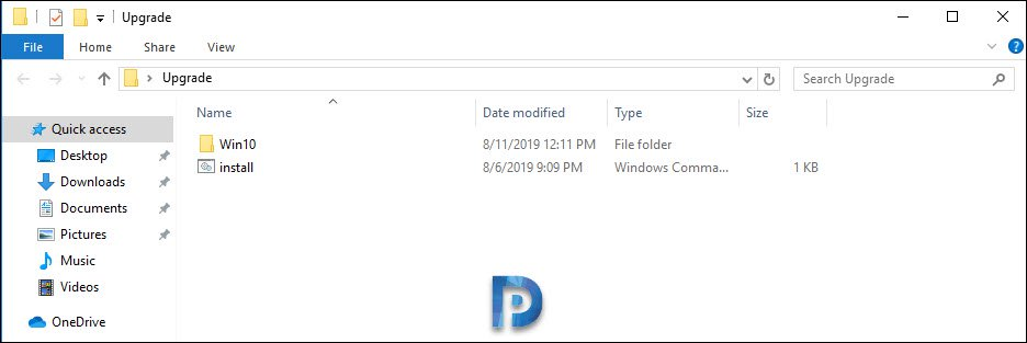 Windows 10 In-place Upgrade Using ISO file – Prajwal Desai