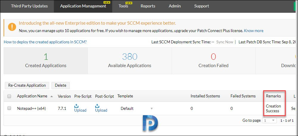 Create Third-party applications in SCCM