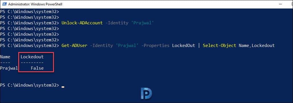 Unlock User Accounts with PowerShell