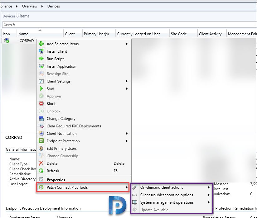 Patch Connect Plus Admin Tools