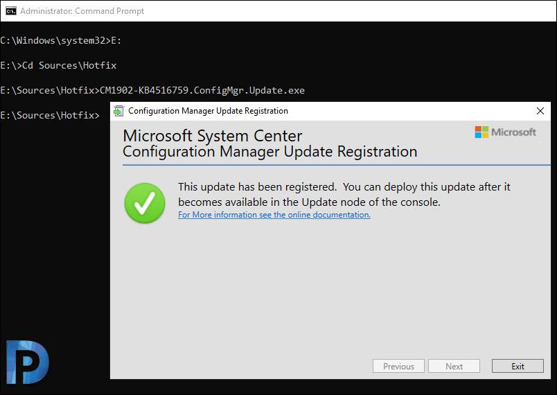 Import Hotfix using Update Registration Tool in SCCM