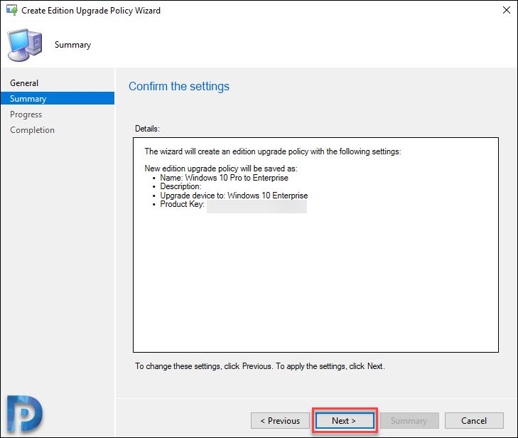 Windows 10 Edition Upgrade Using SCCM