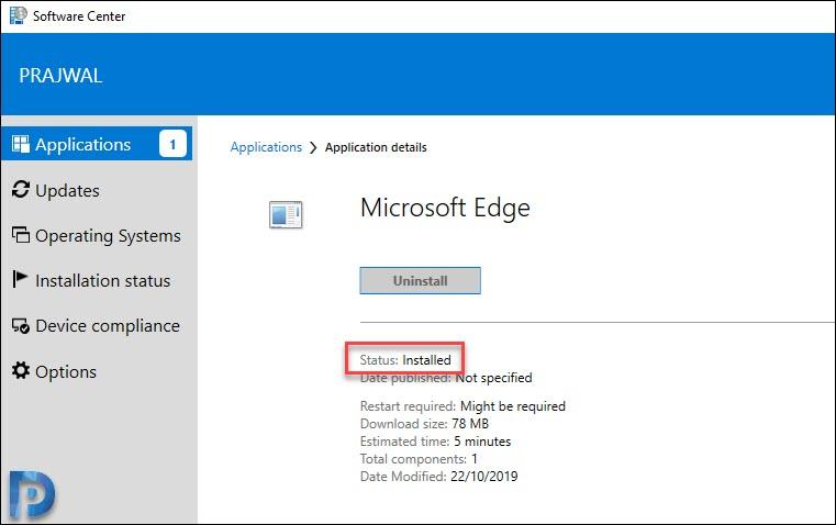 Install Microsoft Edge