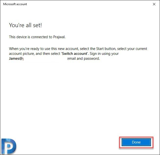 Join a Windows 10 Device to Azure AD Snap4