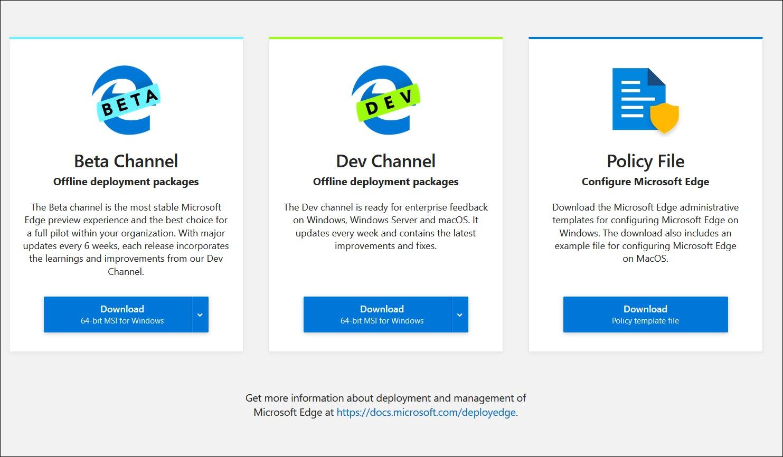 Microsoft Edge SCCM Deployment