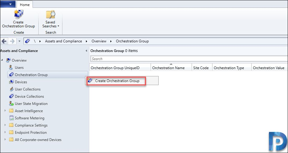 Create Orchestration Groups in SCCM