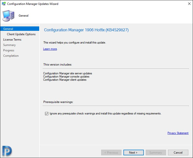 Install Hotfix KB4529827