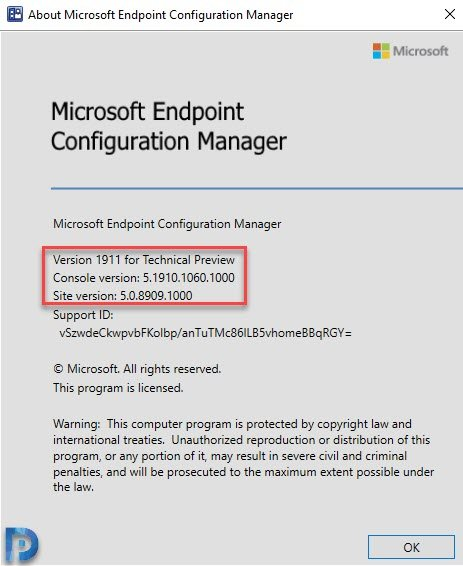 Configuration Manager Technical Preview 1911 Snap7