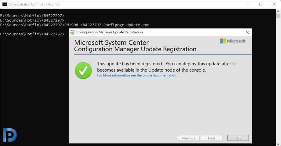 SCCM update registration tool