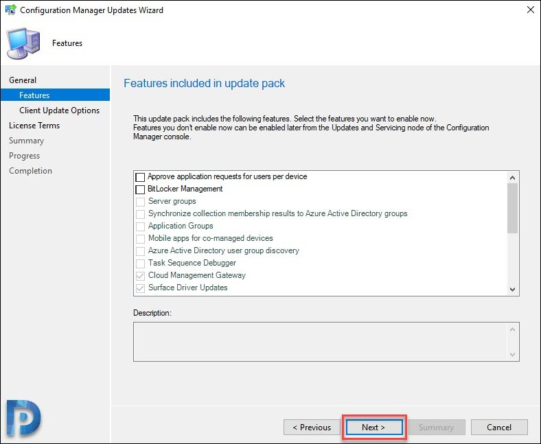 SCCM 1910 New Features