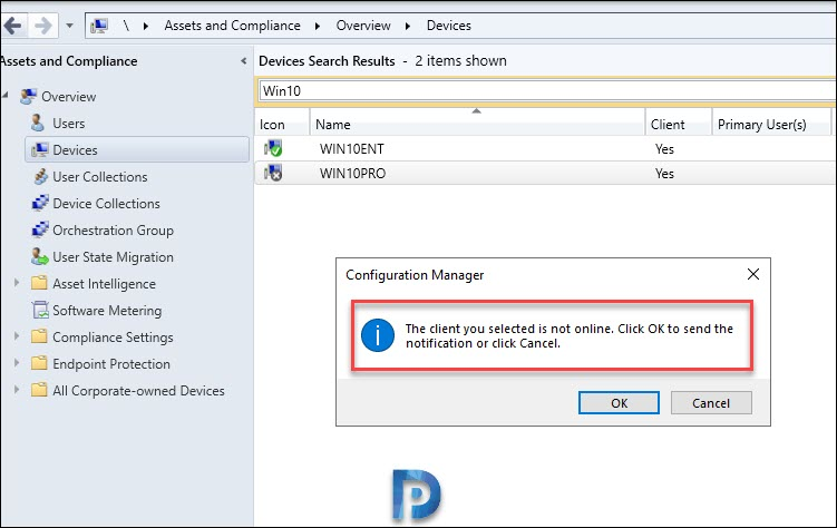 Client Log Collection in SCCM TP 1912 Snap3
