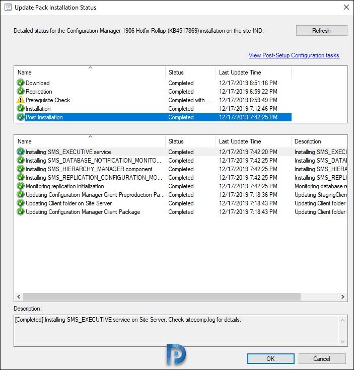 ConfigMgr 1906 Hotfix KB4529824 Snap6