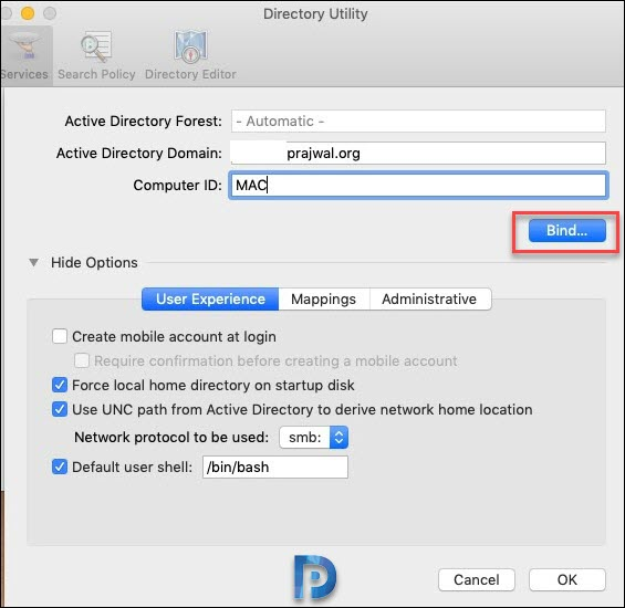 How to Join or Bind a Mac to a Windows Domain