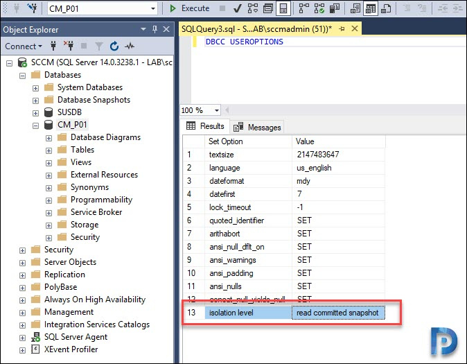 Move SCCM Database to Another Drive Snap15