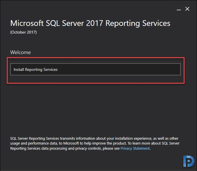 Re-Install the SQL Reporting Services