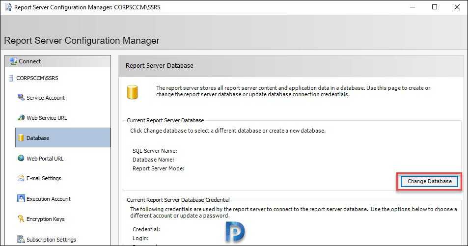 Configure the SQL Reporting Services