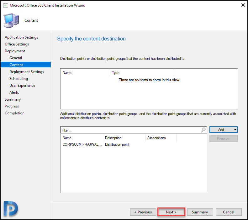 Create Office 365 Installer using SCCM Snap17