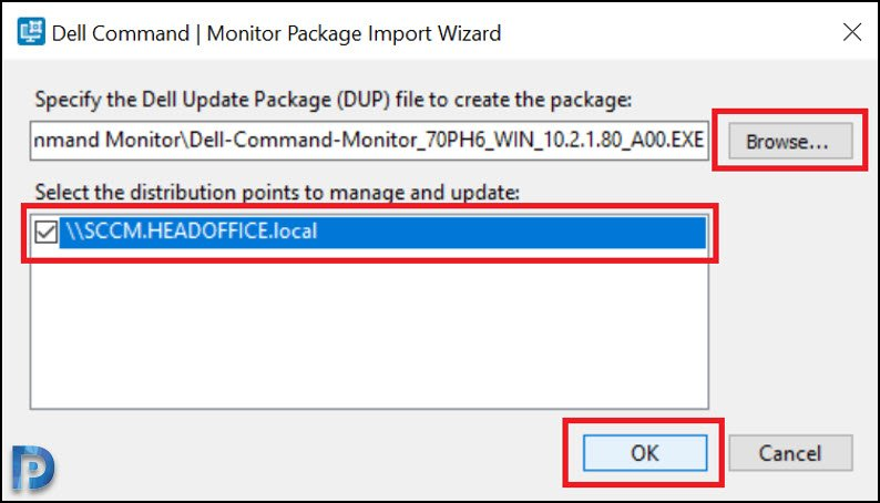 Deploy Dell Command Monitor using SCCM Snap3