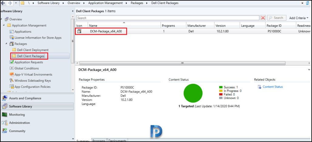 dell client packages