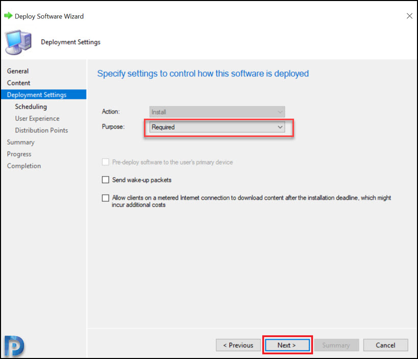 Deploy Dell Command Monitor using SCCM Snap9