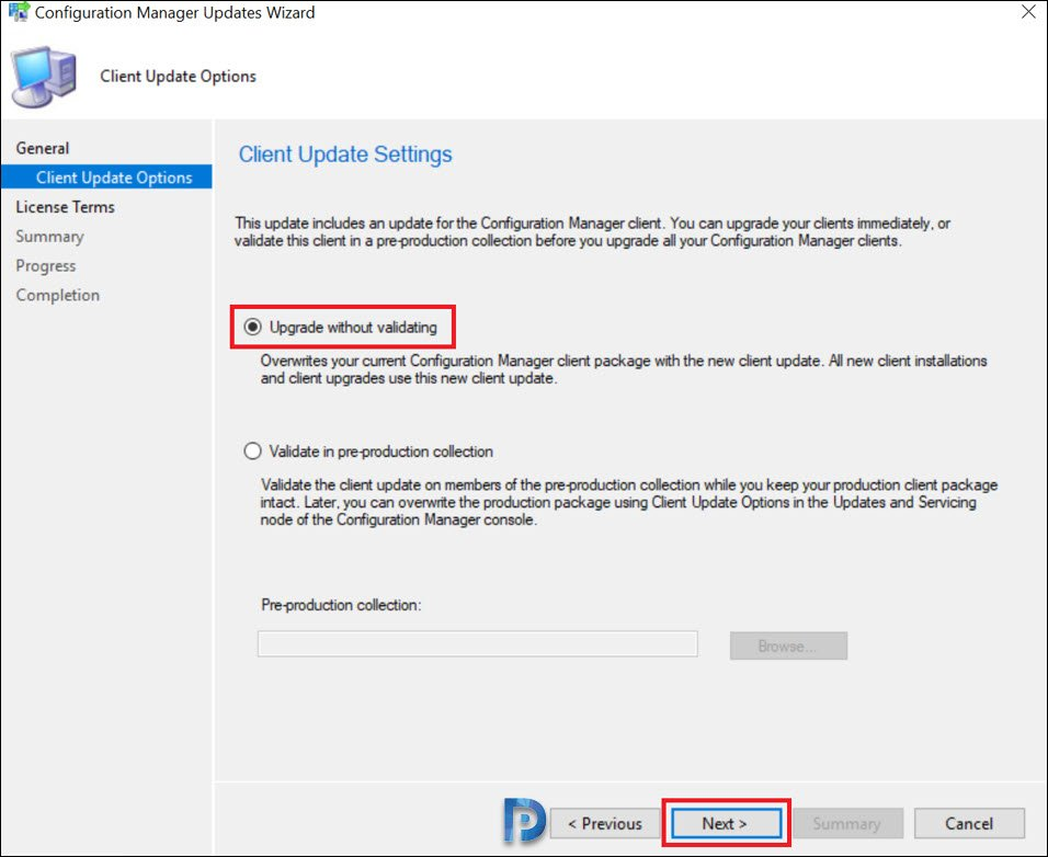Hotfix KB4538166 Client Update for ConfigMgr 1910 Snap8