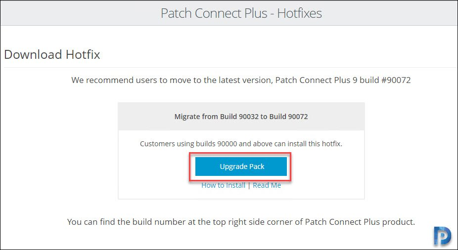 download PCP Hotfix