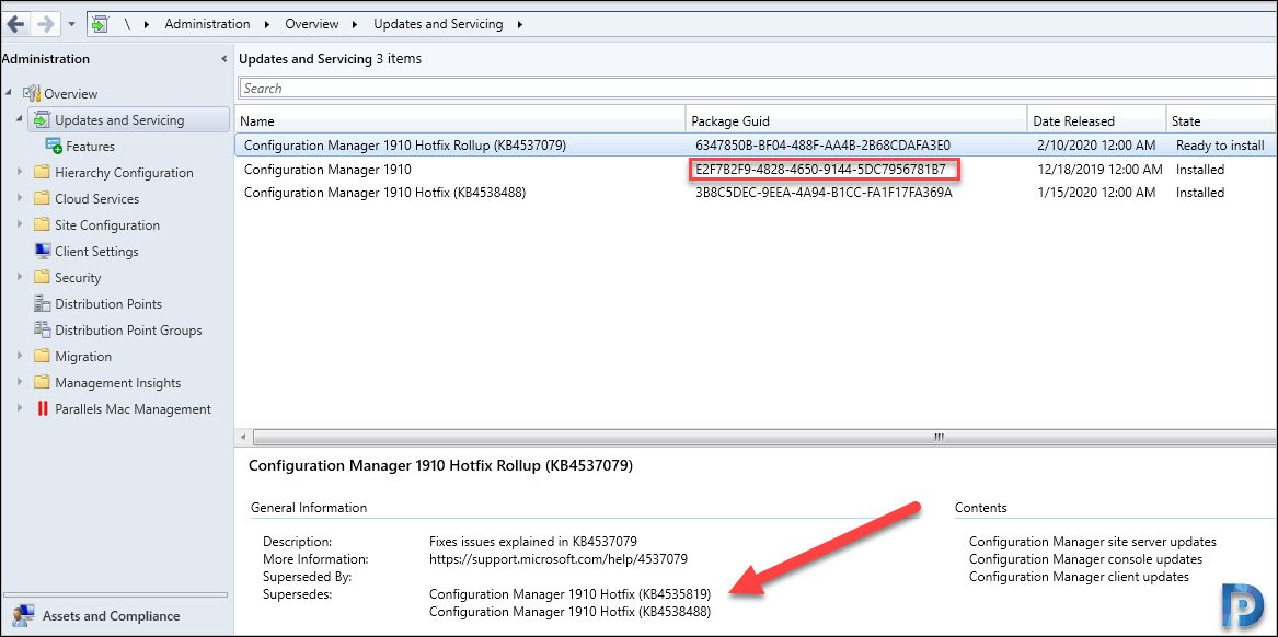 Configuration Manager 1910 KB4537079 Update Rollup Snap2