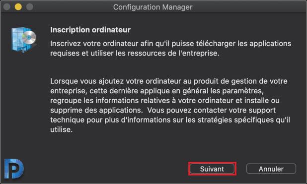 Install MacOS Client 64-bit