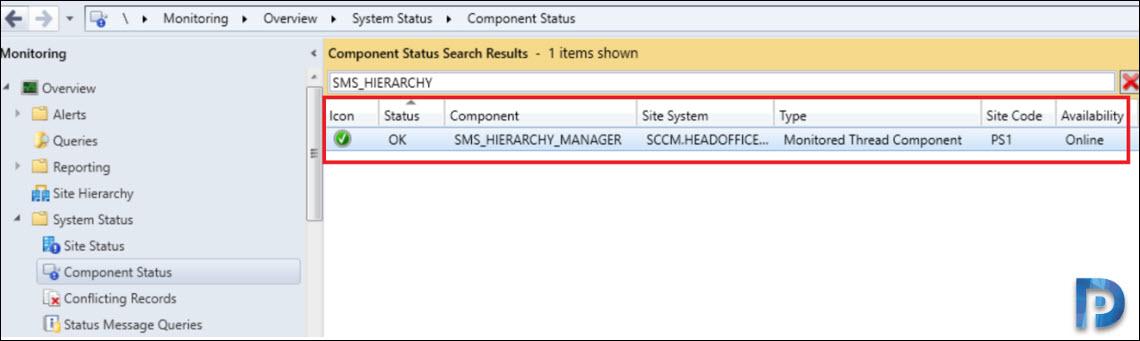 Fix SCCM SMS HIERARCHY MANAGER Error 3353
