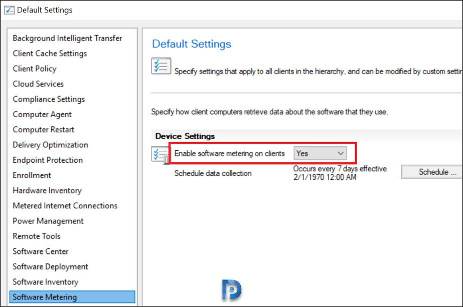 Software Metering for Microsoft Edge using SCCM