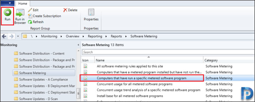 Software Metering for Microsoft Edge using SCCM Snap9