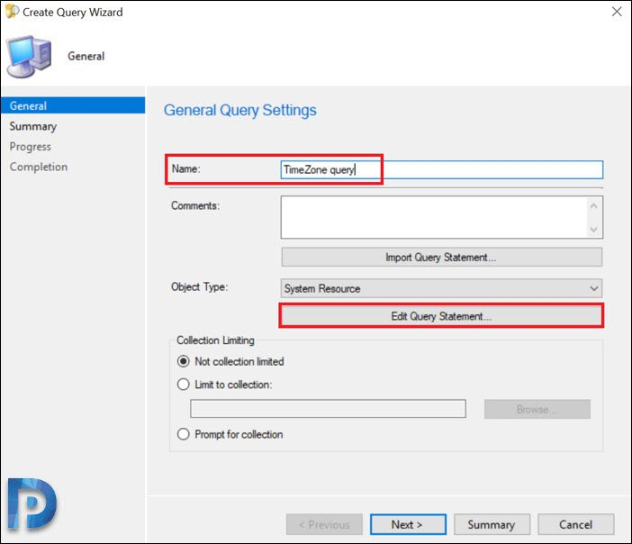 Time Zone Inventory using Configuration Manager