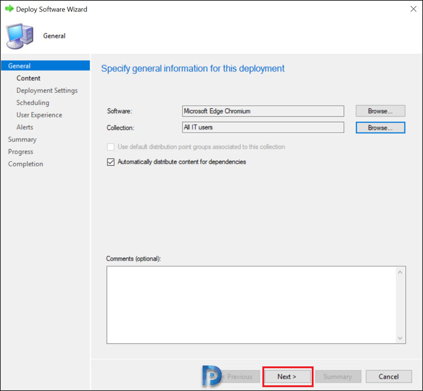 User Application Deployment with SCCM 1910