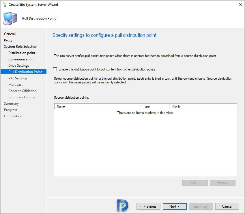 Enable ConfigMgr PXE on Windows 10 Snap13
